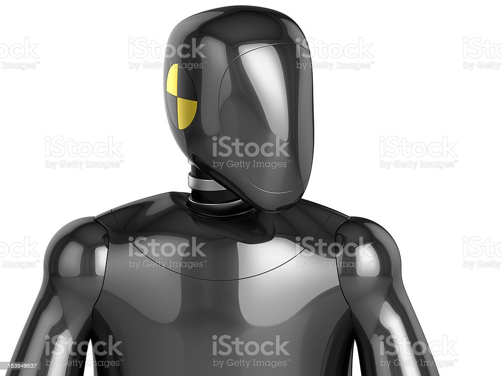 Crash Test Dummy concept (Hi-Res) stock photo