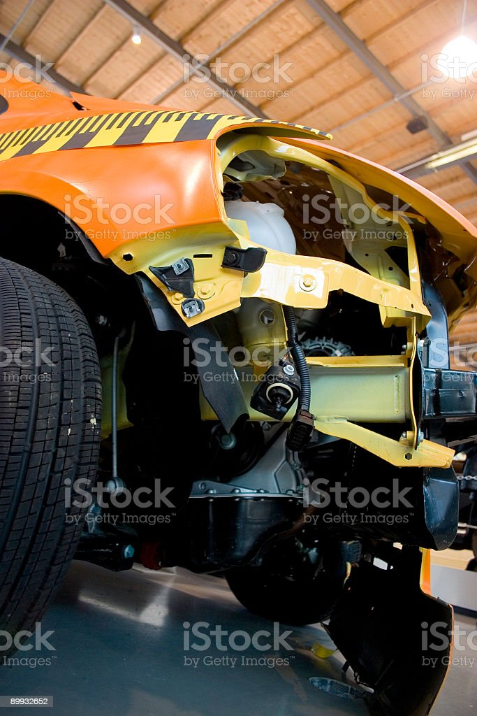 crash test royalty-free stock photo