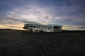 Crashed DC-3 in Iceland