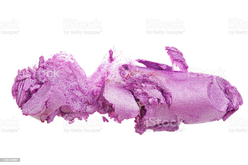 Crashed lipstick royalty-free stock photo