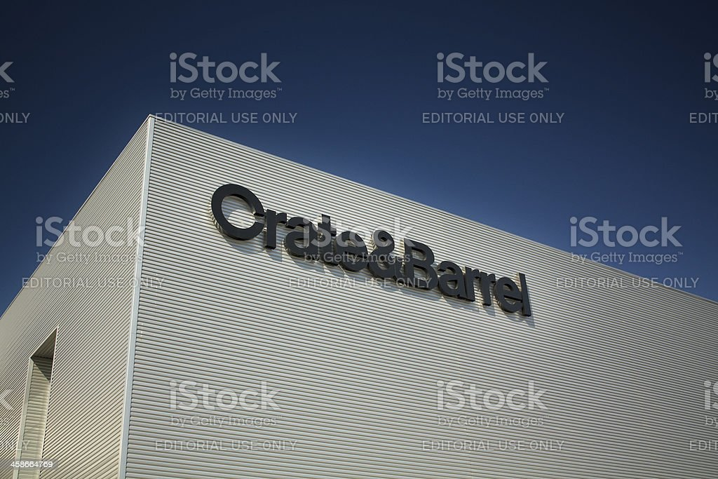 Crate and Barrel stock photo