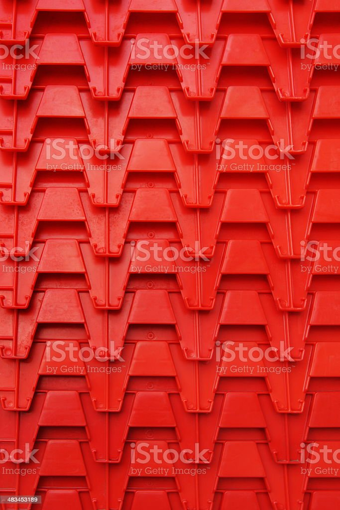 Crate Container Grocery Tray Bins royalty-free stock photo