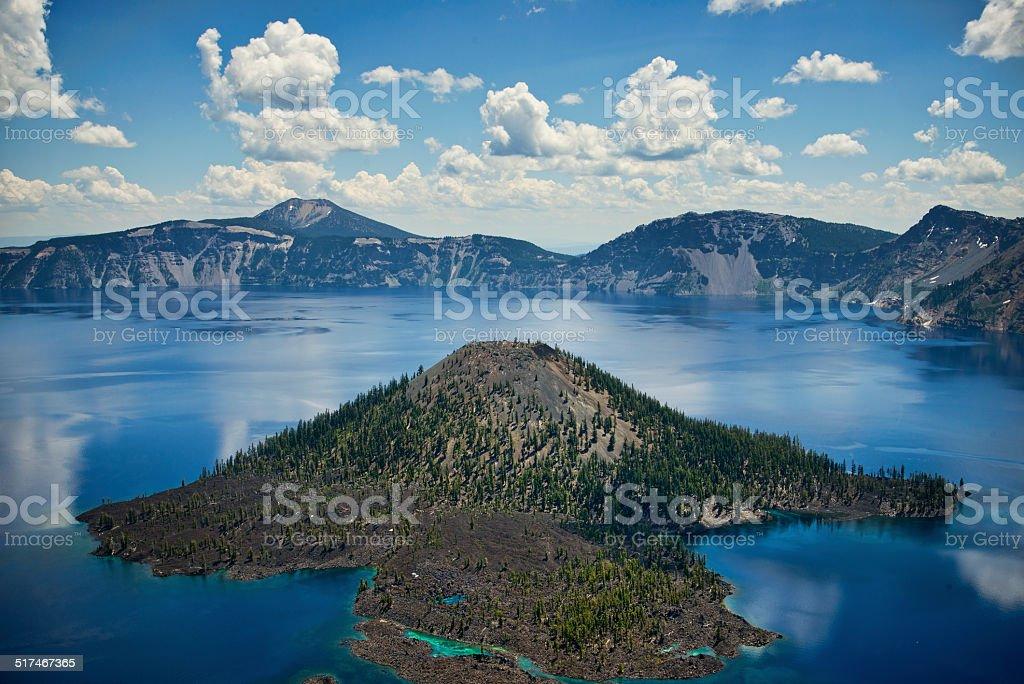 Parque nacional Crater Lake, Oregon foto de stock libre de derechos