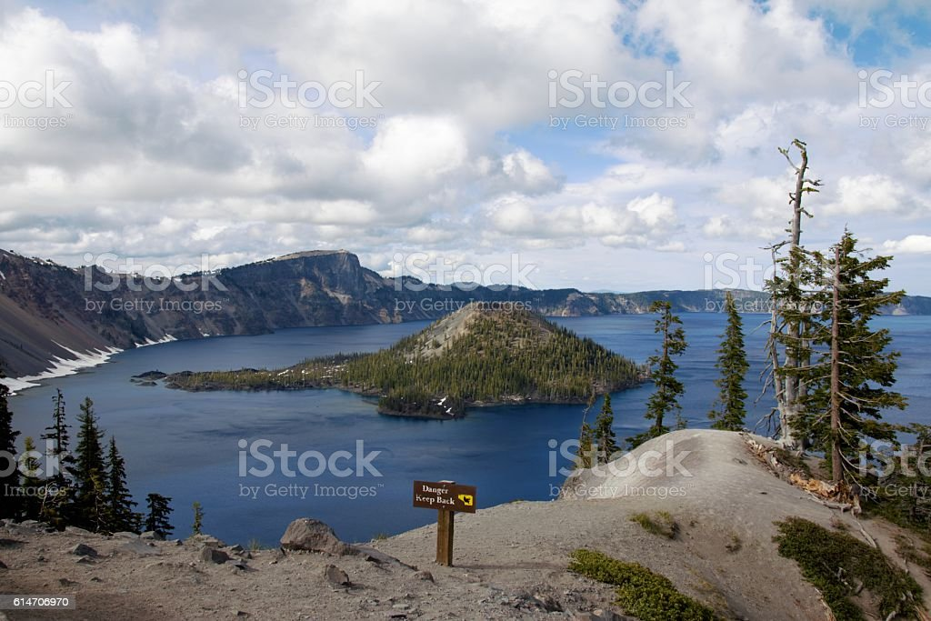 Crater Lake National Park, Oregon stock photo