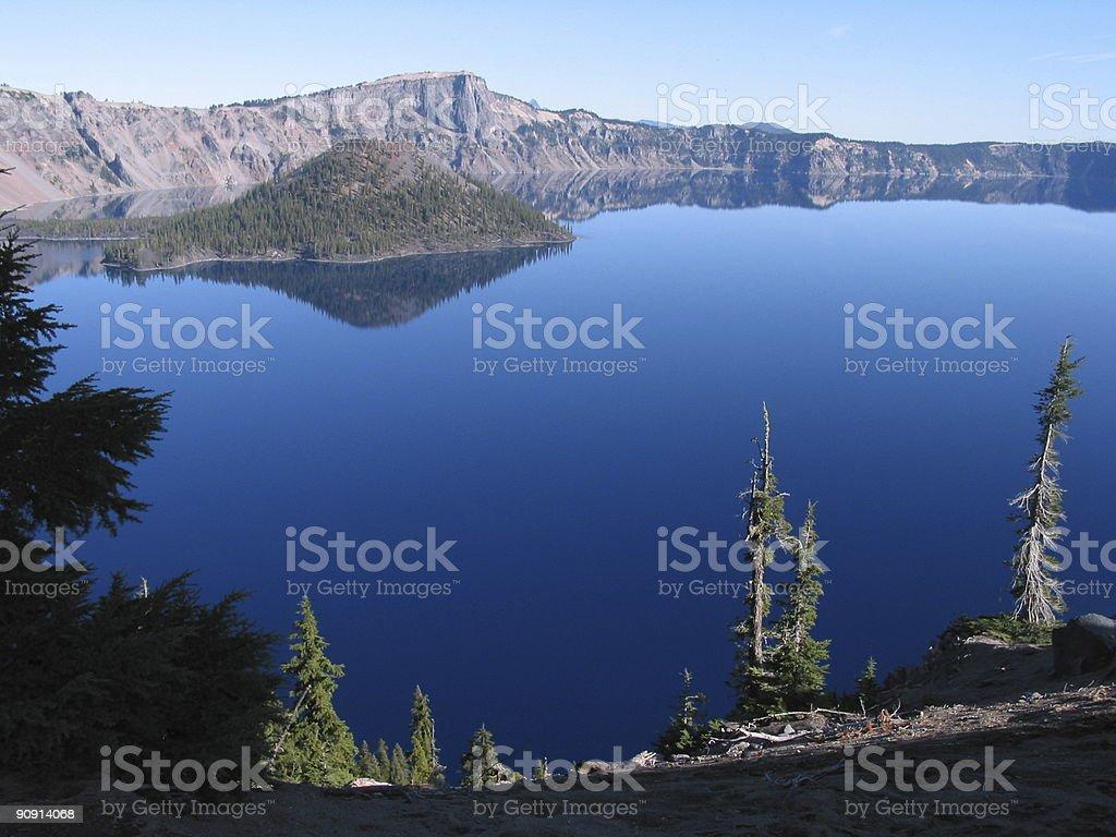 Crater Lake National Park, Oregon royalty-free stock photo