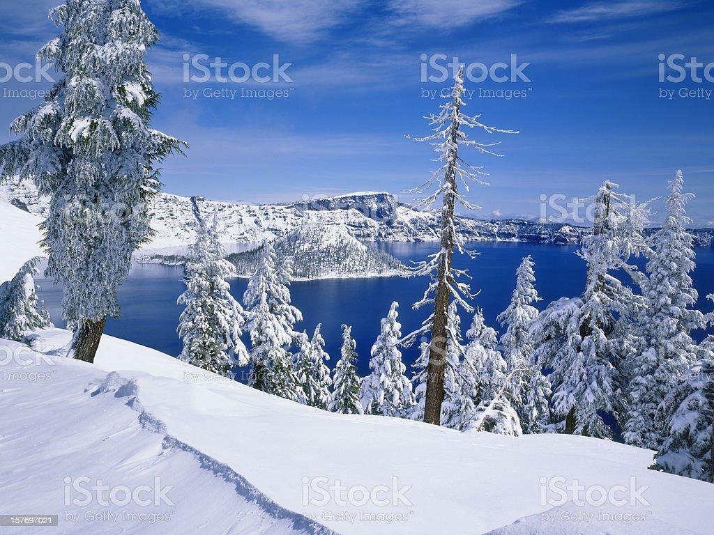 Crater Lake National Park    (Pg) royalty-free stock photo