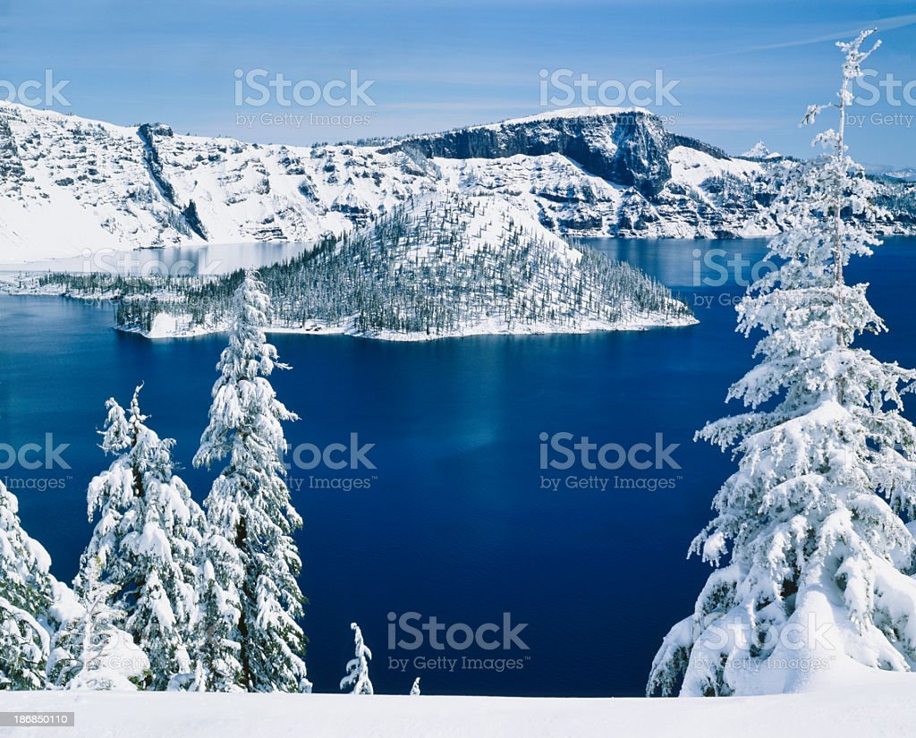 Crater Lake National Park    (P) stock photo