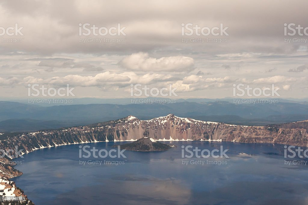 Crater Lake Oregon stock photo