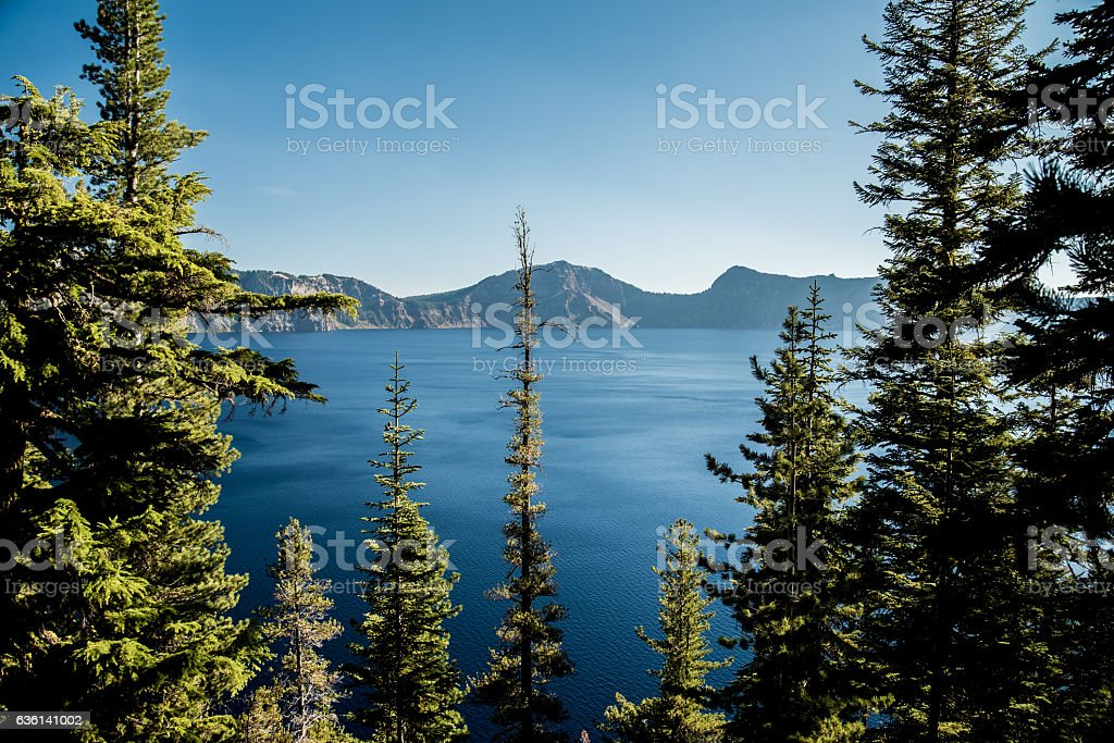 Crater Lake, Orgeon, USA stock photo