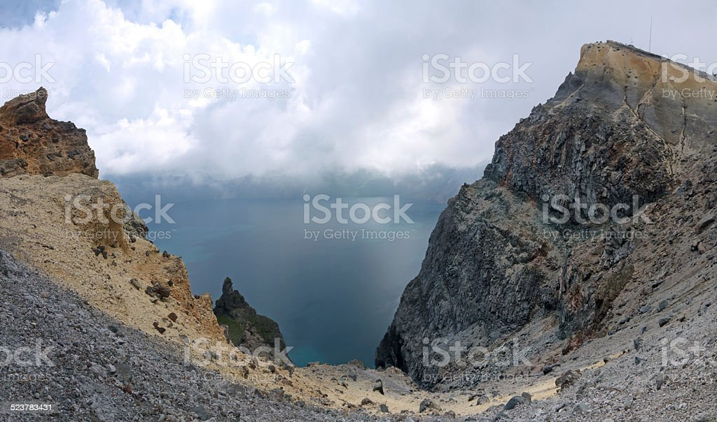 Crater Lake stock photo