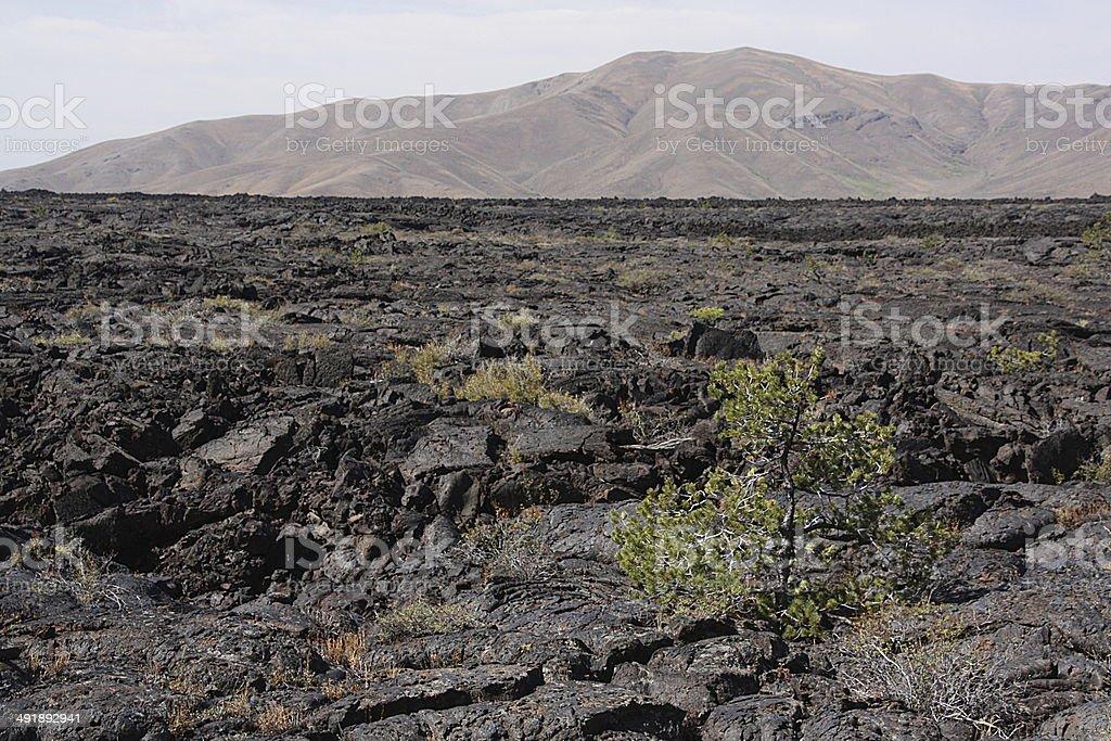 Craters of the Moon - Idaho stock photo