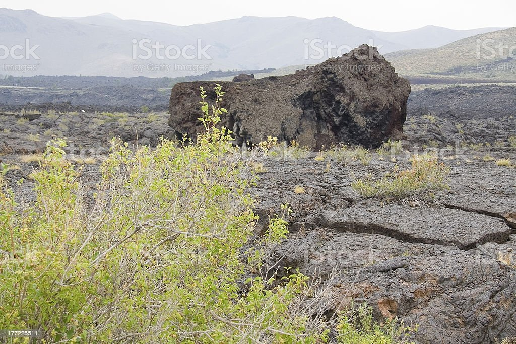 Craters Of The Moon royalty-free stock photo