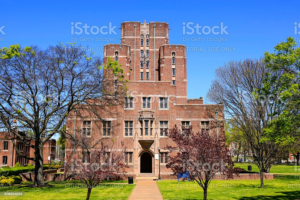 Cravath Hall building on Fisk University campus in Nashville TN stock photo