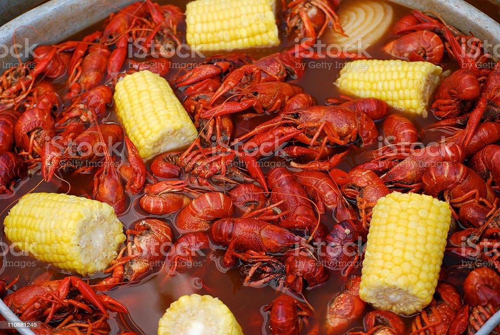 Crawfish Boil royalty-free stock photo