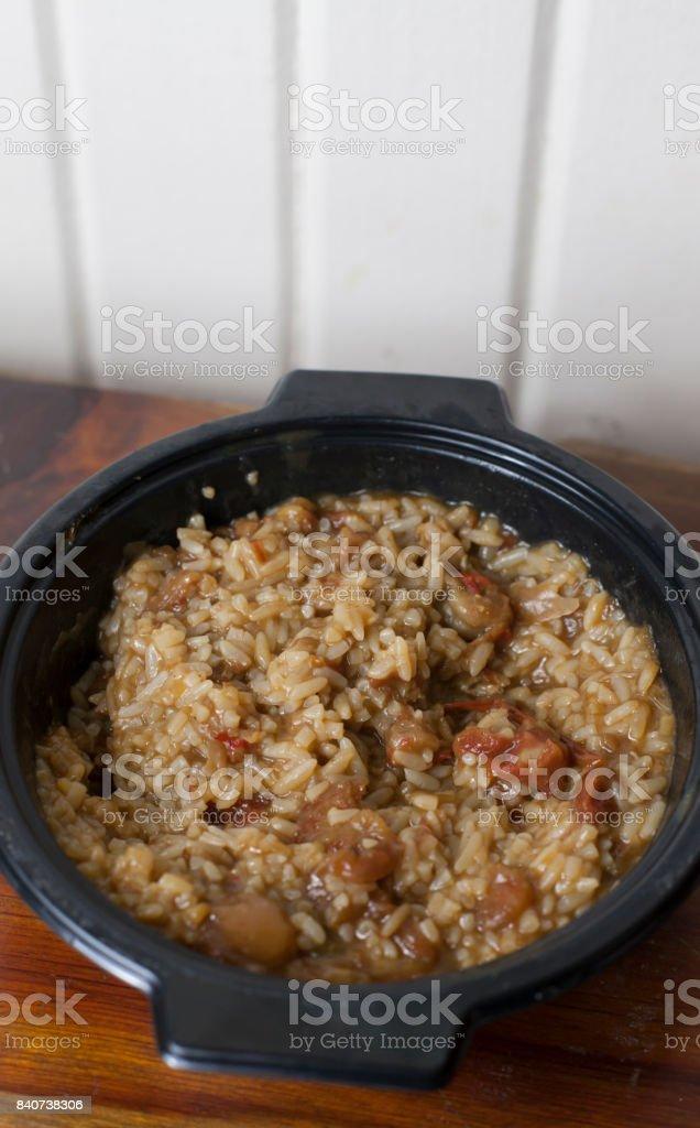 Crawfish Jambalaya stock photo