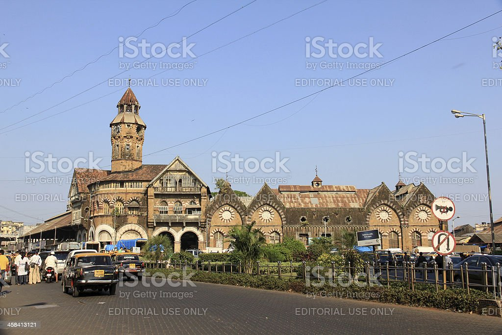 Crawford Market, Mumbai royalty-free stock photo