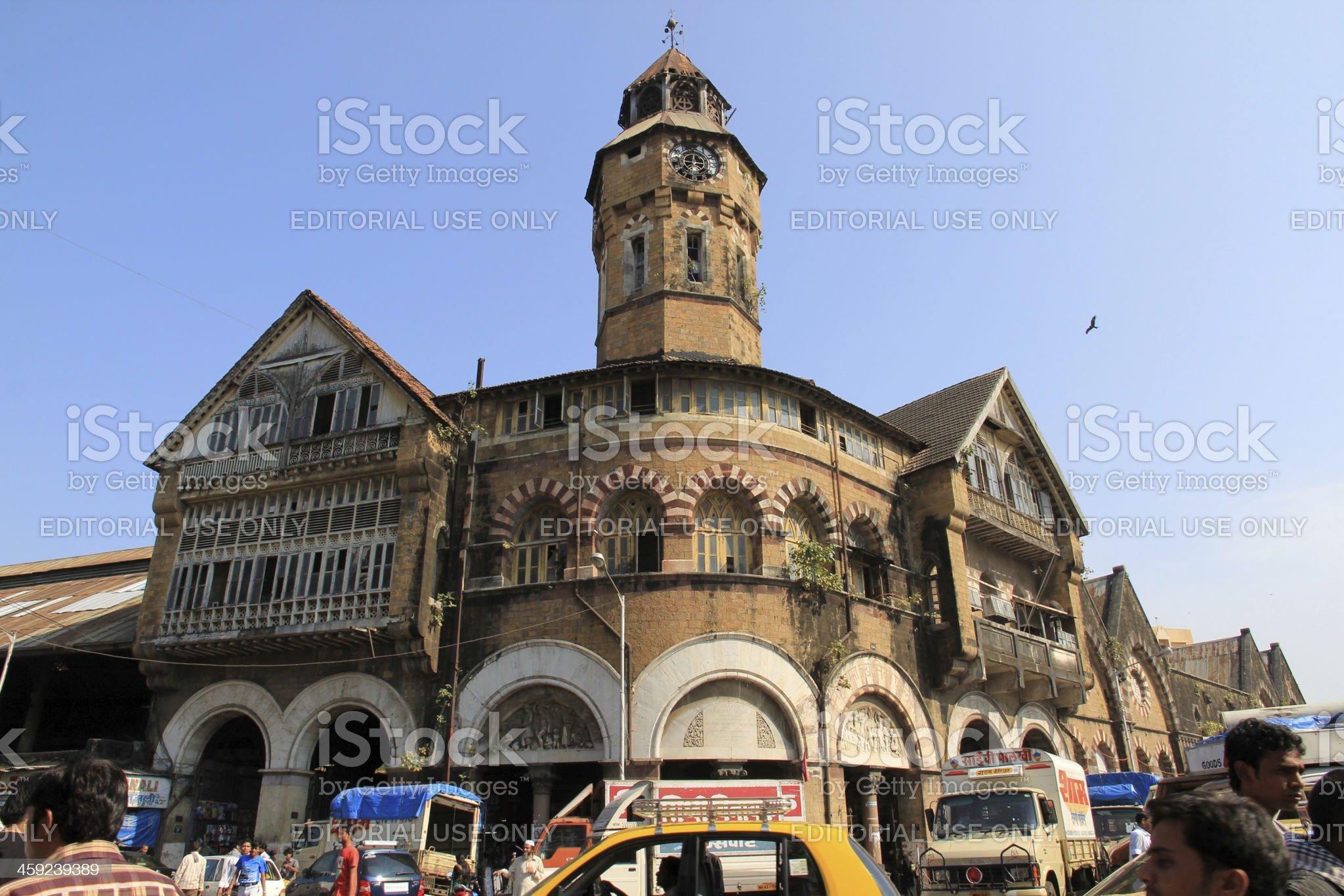 Crawford Market, Mumbai royalty-free stock photo