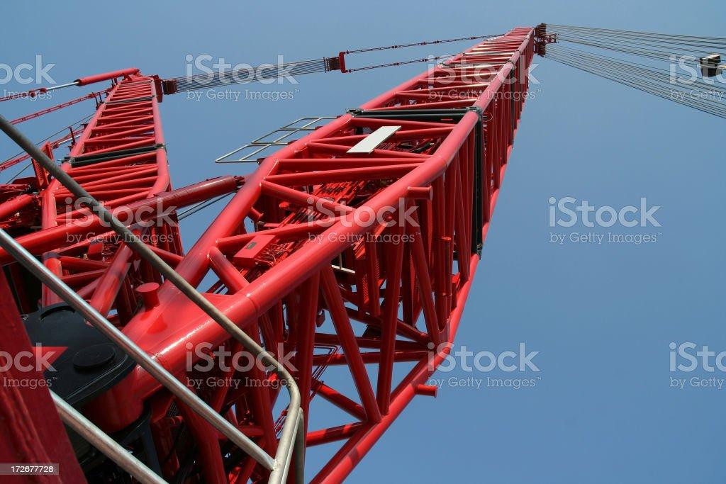 Crawler Crane 2 stock photo