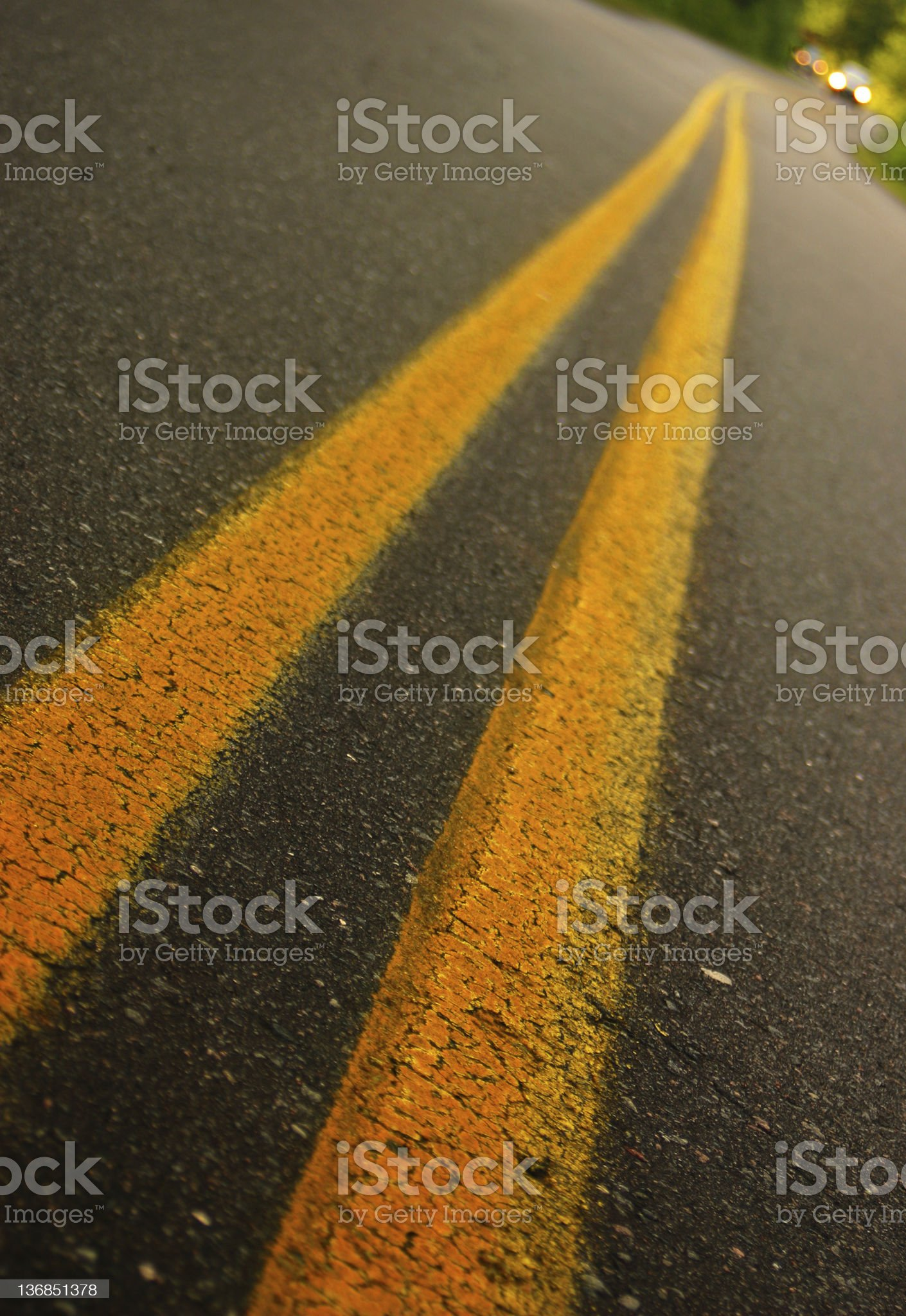 Crawling the road royalty-free stock photo