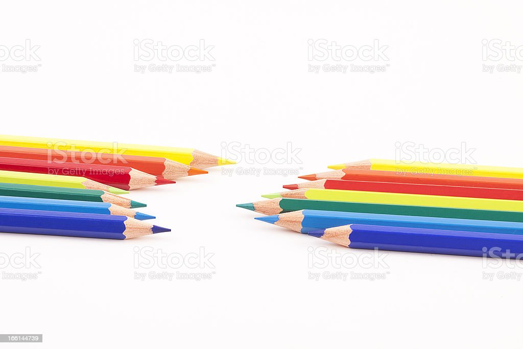 crayon royalty-free stock photo