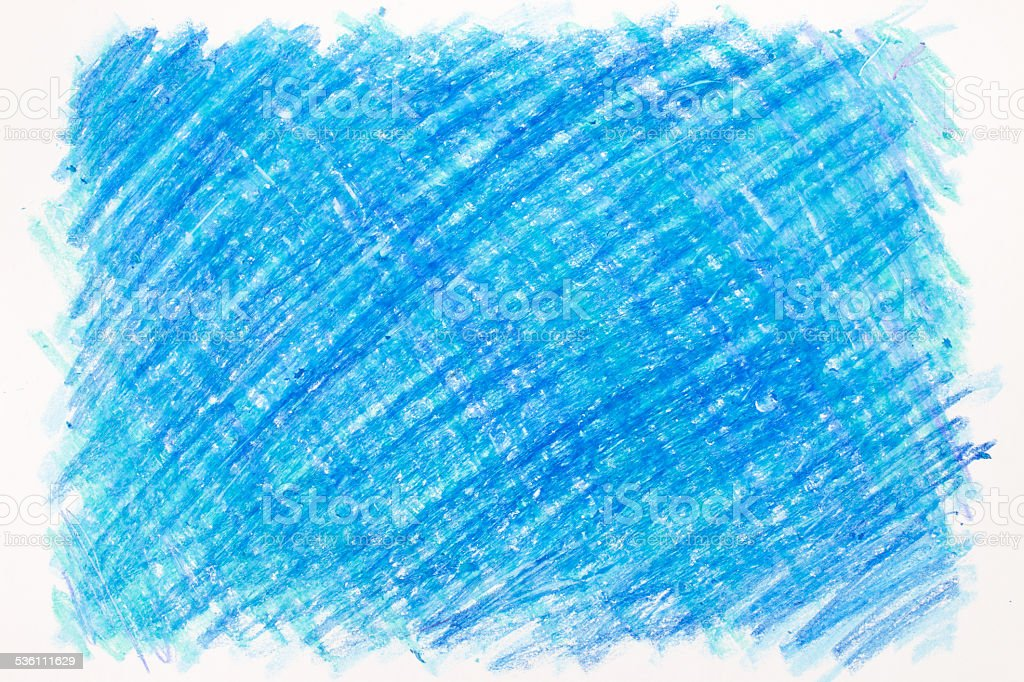 Crayon scribble stock photo