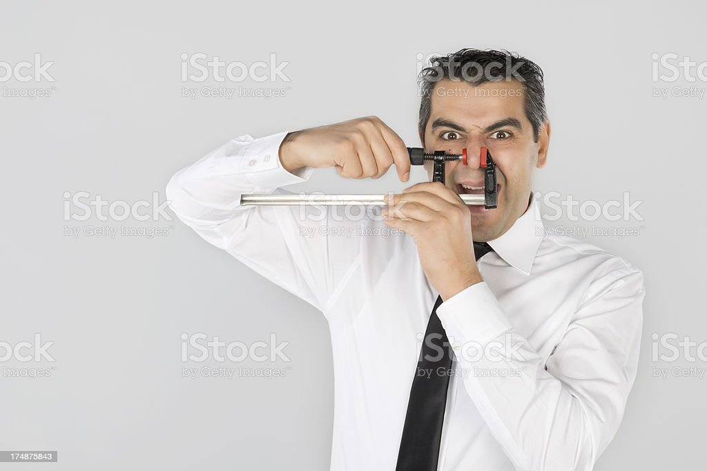 crazy business royalty-free stock photo