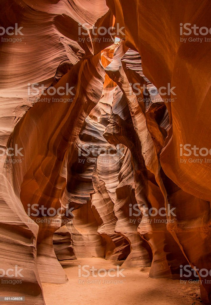 Crazy Canyons stock photo
