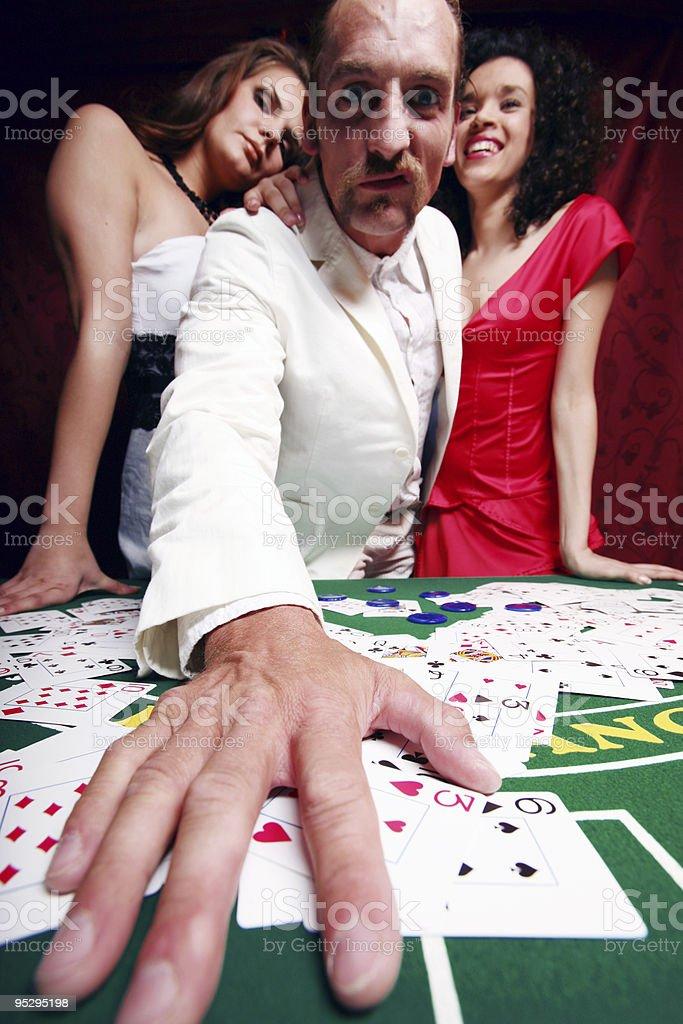 crazy casino royalty-free stock photo
