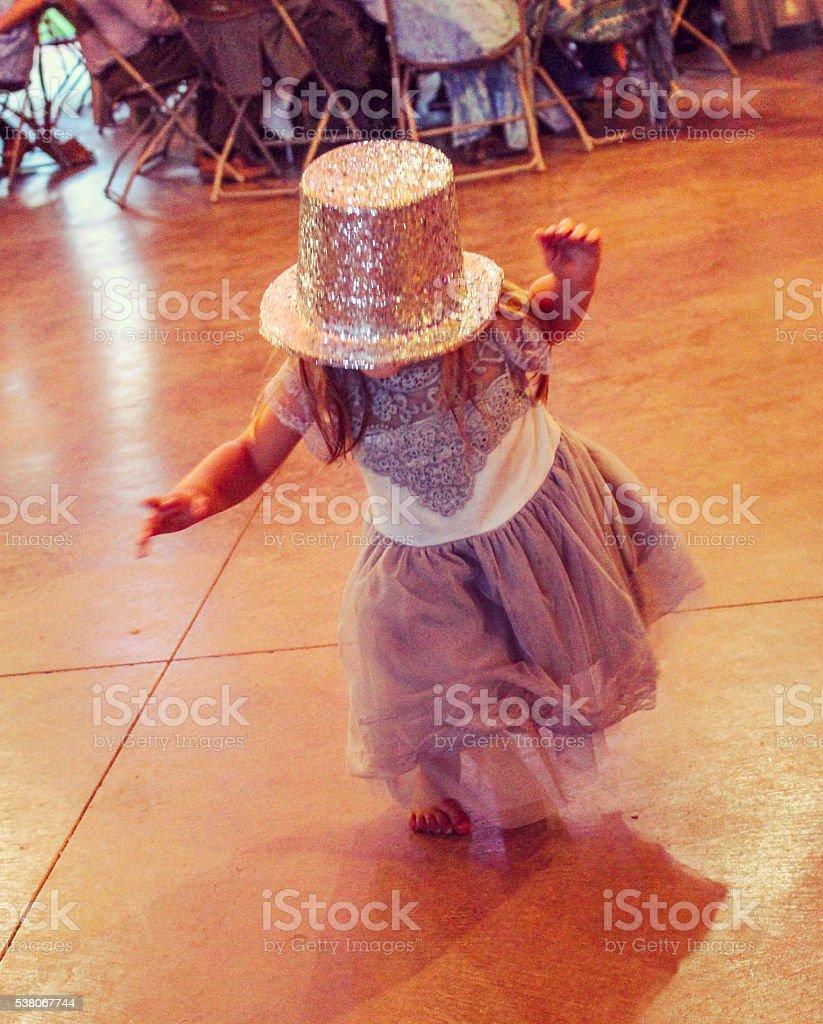Crazy Dancer stock photo
