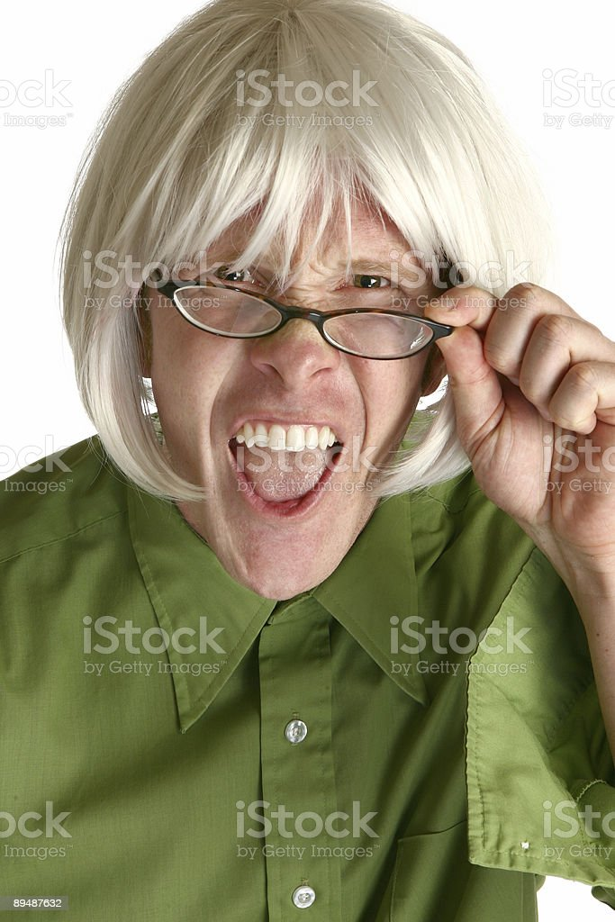 Crazy Expressions stock photo