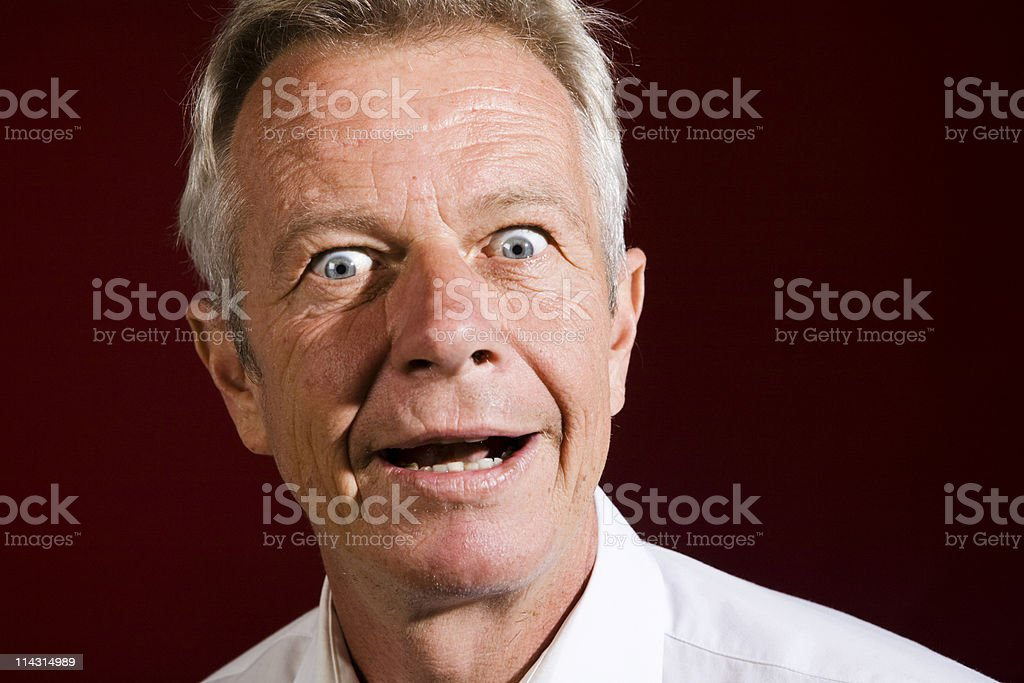 Crazy eyes royalty-free stock photo
