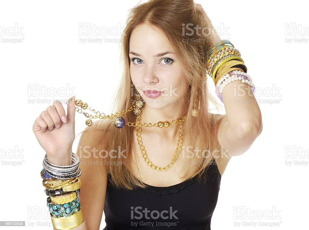 Crazy for fashion royalty-free stock photo