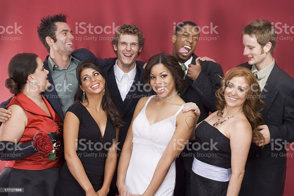 Crazy Party Pic stock photo