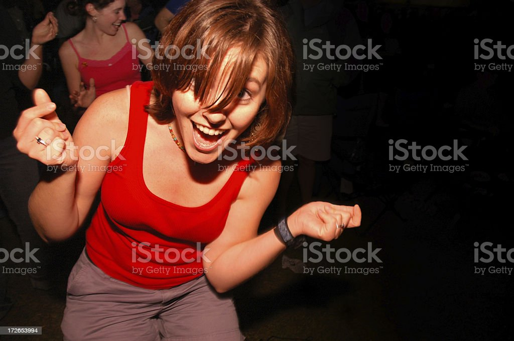 Crazy Party royalty-free stock photo