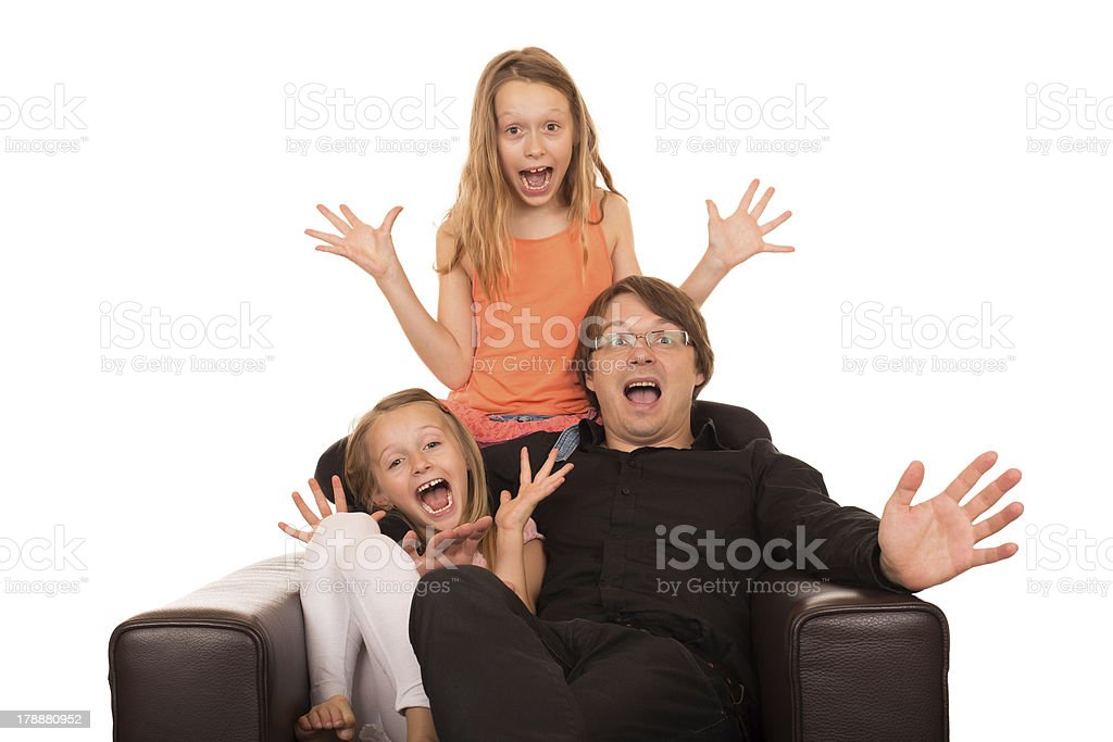 Crazy people crying and laughing royalty-free stock photo