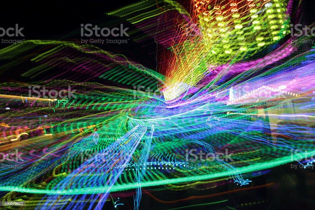 crazy ride stock photo