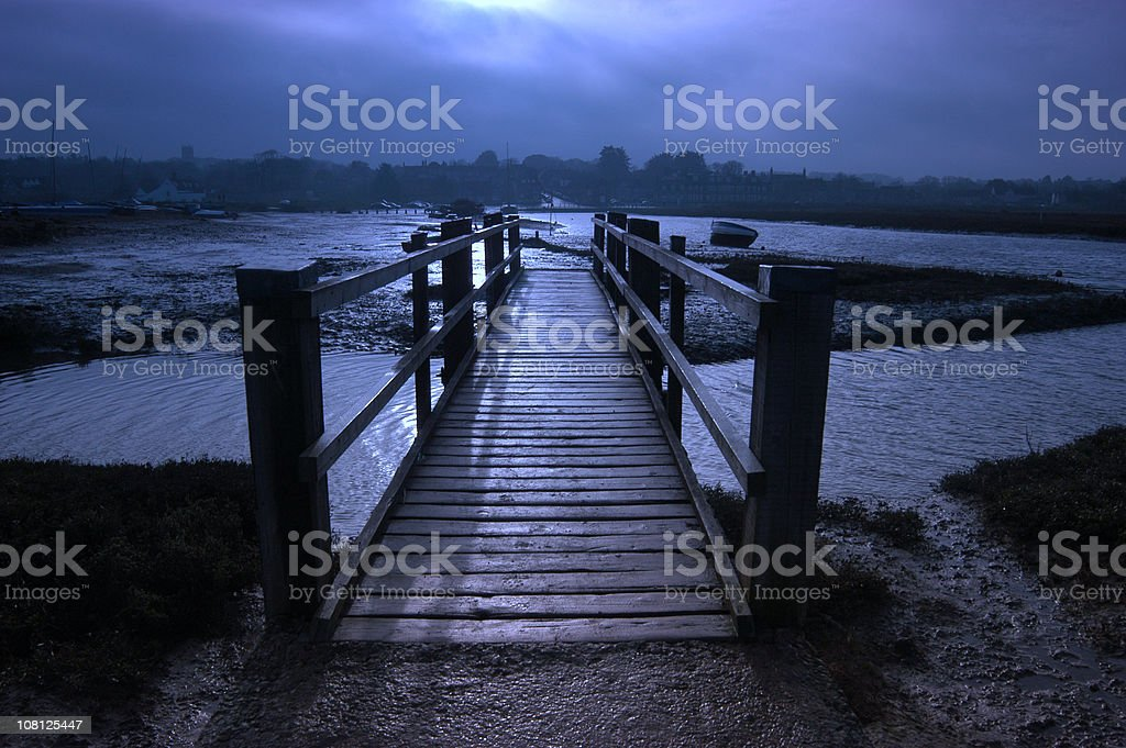 Creaky Bridge royalty-free stock photo