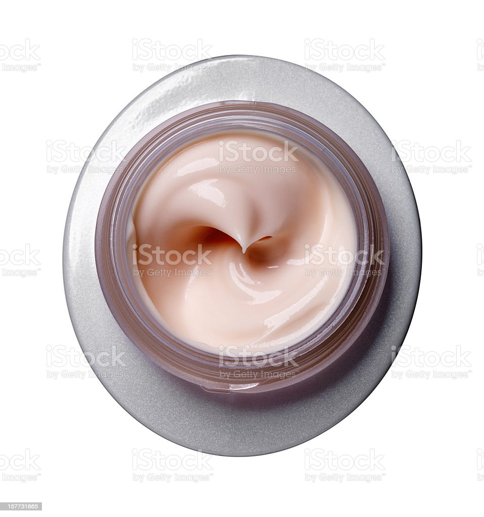 Cream beauty stock photo
