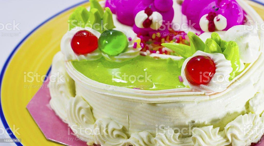Cream cake. royalty-free stock photo