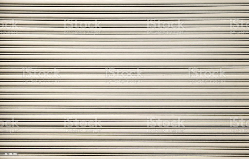 Cream Corrugated Background royalty-free stock photo