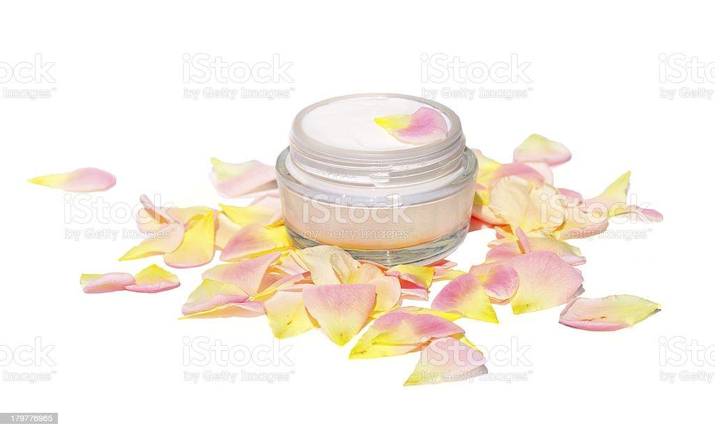 Cream Cosmetic Skin Care Beauty Organic royalty-free stock photo