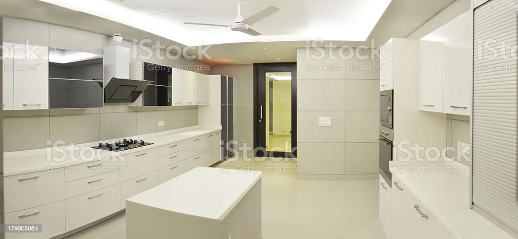 Cream kitchen royalty-free stock photo