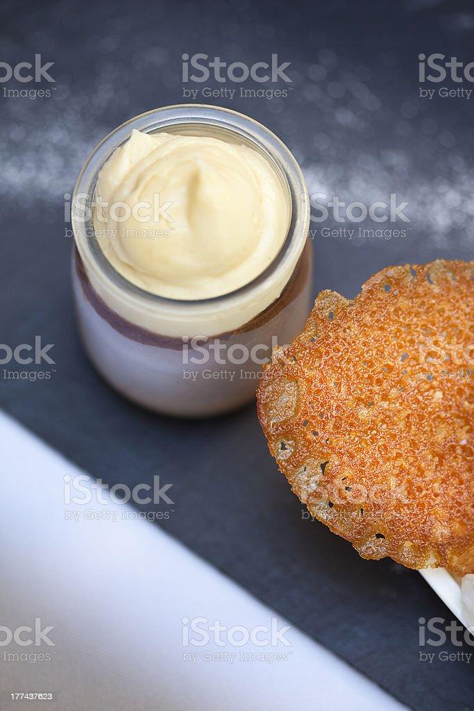 Cream royalty-free stock photo
