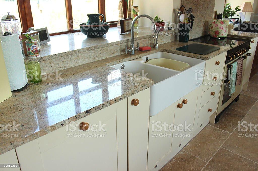 crema agitador de cocina encimera de granito y de superficie gama para cocinas de