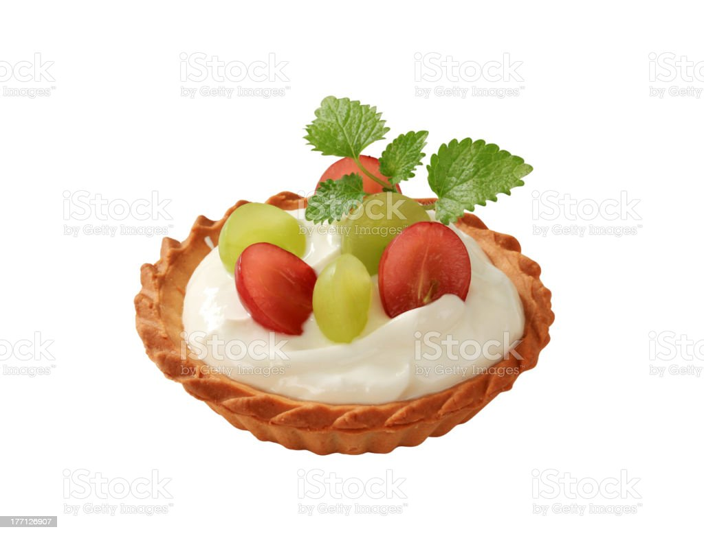Cream tart royalty-free stock photo