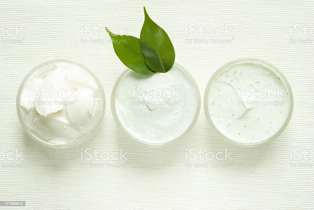Creams royalty-free stock photo