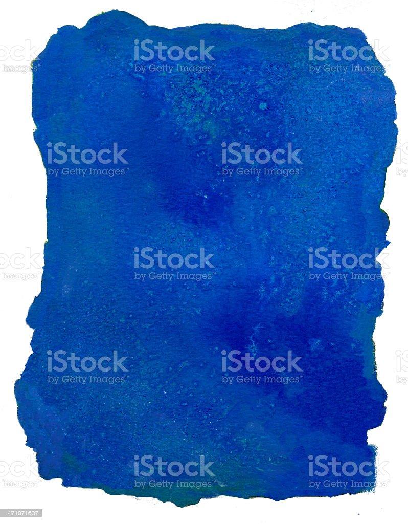 Creamy blue Frame royalty-free stock photo