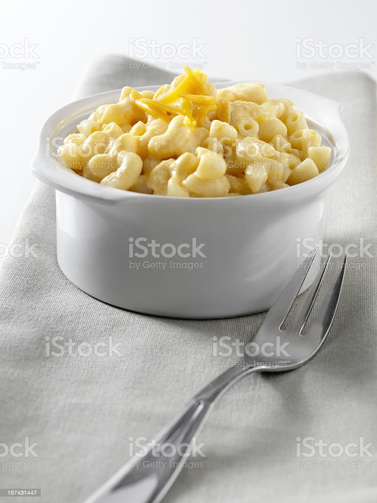 Creamy Macaroni and Cheese royalty-free stock photo