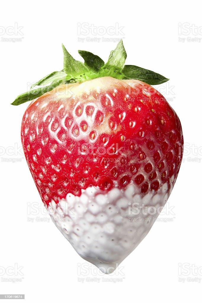 Creamy Strawberry stock photo