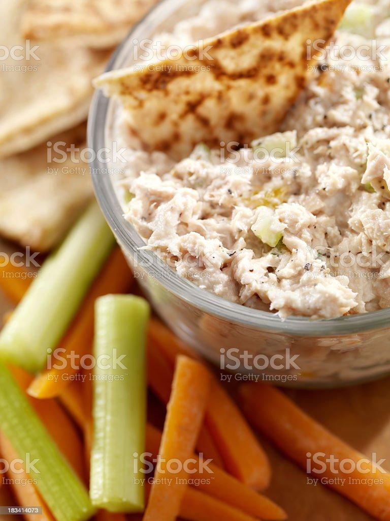 Creamy Tuna Salad Spread royalty-free stock photo